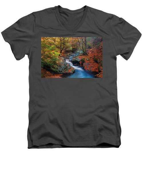 Old River Men's V-Neck T-Shirt