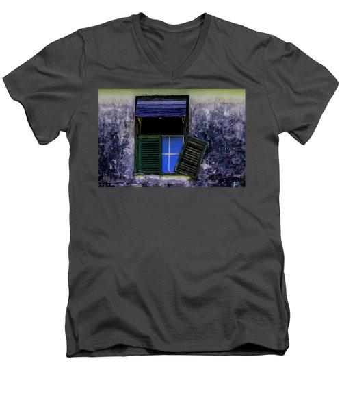 Old Window 2 Men's V-Neck T-Shirt