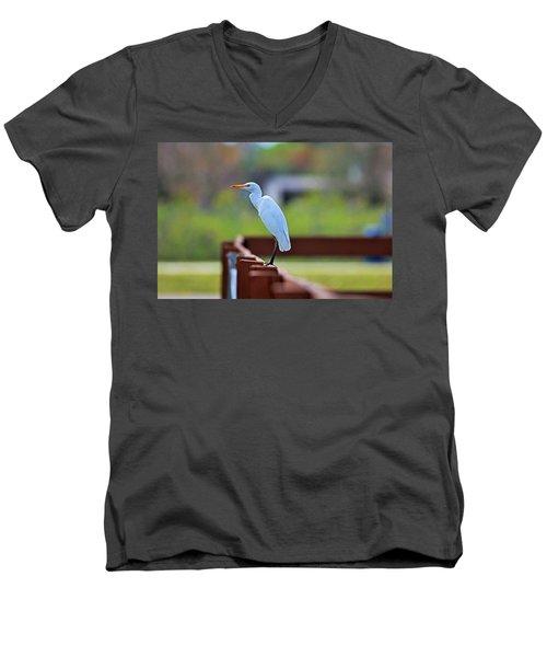 On The Rails Men's V-Neck T-Shirt
