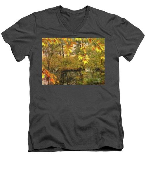 Once A Pond A Time Men's V-Neck T-Shirt