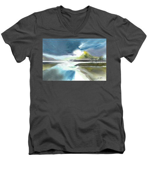 One Fine Day Men's V-Neck T-Shirt