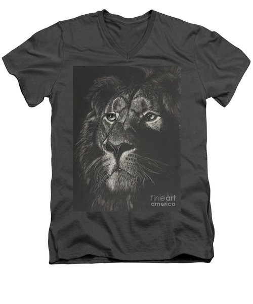 Out From The Dark Men's V-Neck T-Shirt