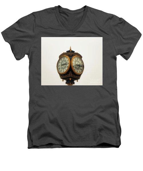 Outside Timepiece Men's V-Neck T-Shirt