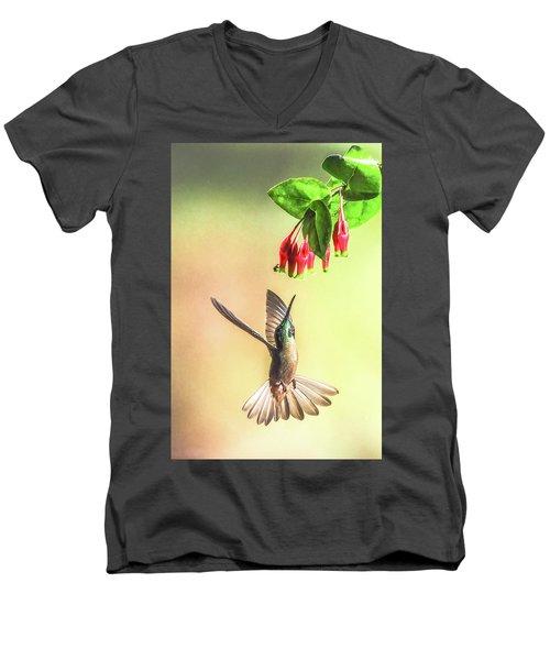 Overhead Men's V-Neck T-Shirt