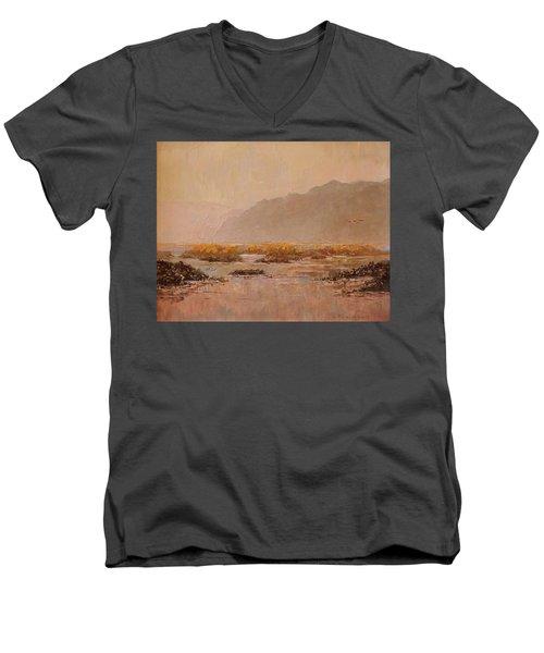 Oyster Beds Emerging Men's V-Neck T-Shirt