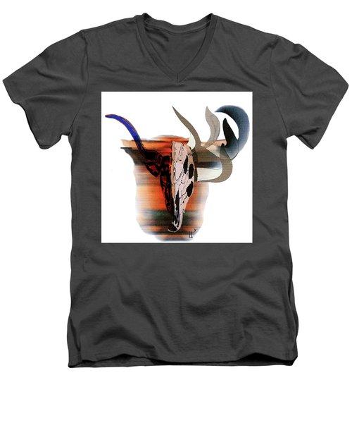 Pablo's Cow Men's V-Neck T-Shirt