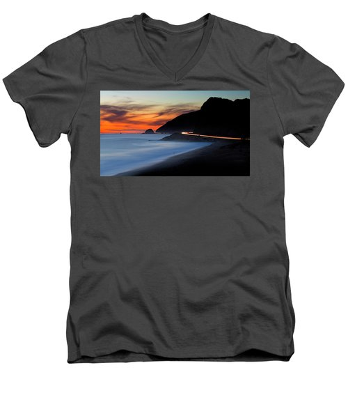 Pacific Coast Highway Men's V-Neck T-Shirt