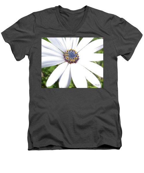 Page 13 From The Book, Peace In The Present Moment. Daisy Brilliance Men's V-Neck T-Shirt
