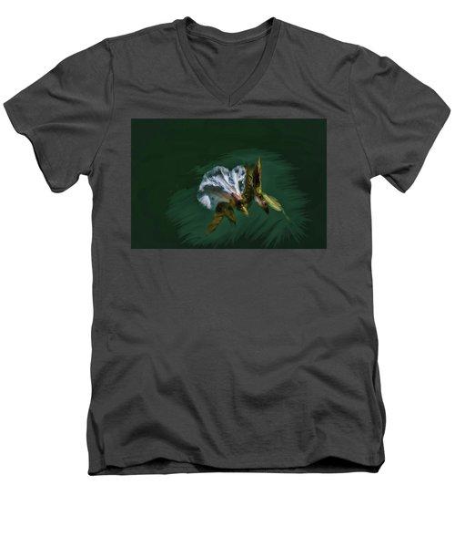 Painted Bindweed #i2 Men's V-Neck T-Shirt