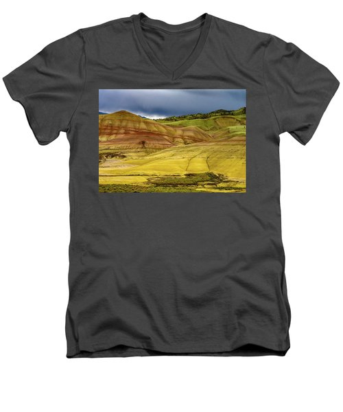 Painted Hills Vista Men's V-Neck T-Shirt