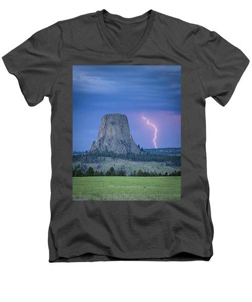 Parallel The Tower Men's V-Neck T-Shirt