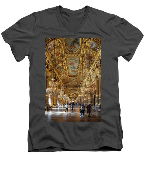 Paris Opera Men's V-Neck T-Shirt