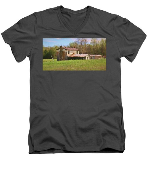 Past Her Prime Men's V-Neck T-Shirt