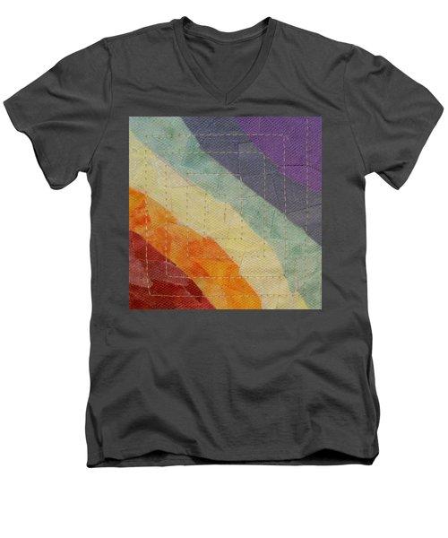Pastel Color Study Men's V-Neck T-Shirt