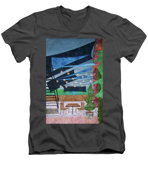 Patio At The Winds Men's V-Neck T-Shirt