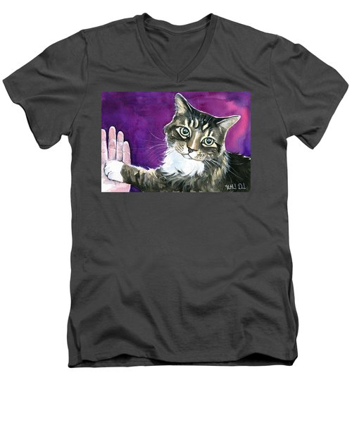 Paw Love Men's V-Neck T-Shirt