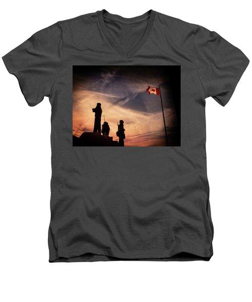 Peacekeepers Men's V-Neck T-Shirt