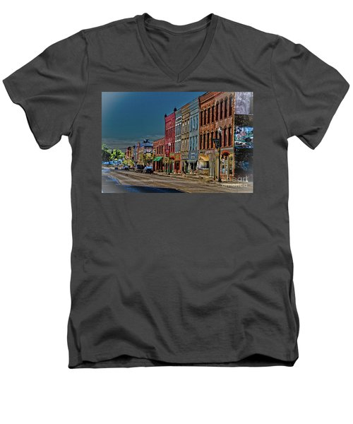 Penn Yan Men's V-Neck T-Shirt