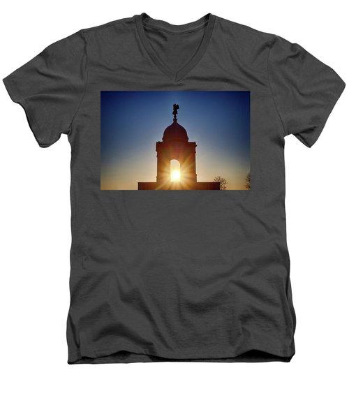 Pennsylvania State Monument Men's V-Neck T-Shirt