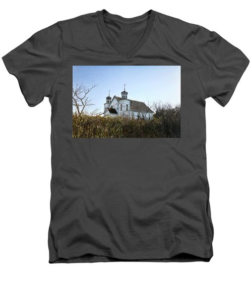 Peterson Sk Men's V-Neck T-Shirt
