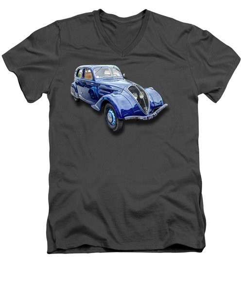 Peugeot 302 Men's V-Neck T-Shirt