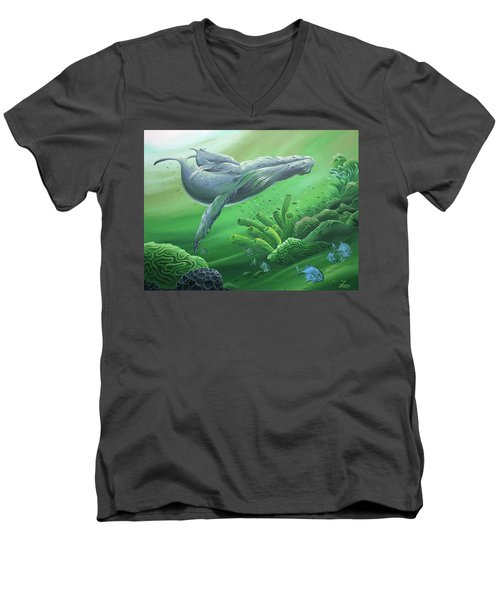 Phathom Men's V-Neck T-Shirt