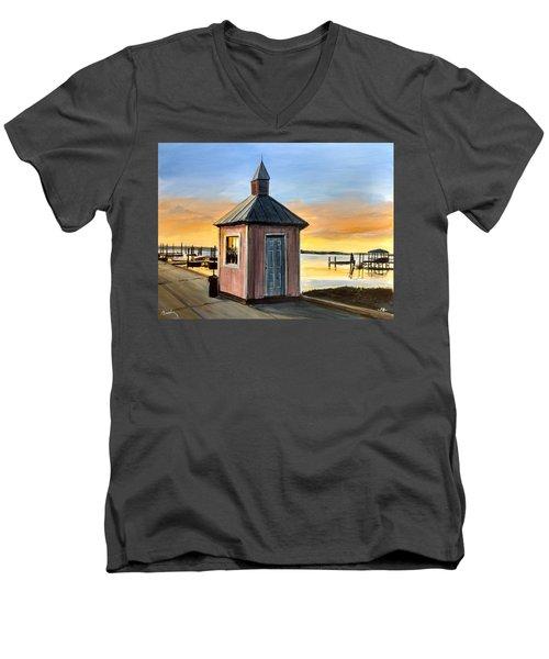 Pink Shed Men's V-Neck T-Shirt