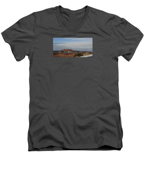 Pride Mountain Men's V-Neck T-Shirt