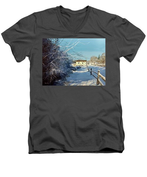 Promise Of Tomorrow Men's V-Neck T-Shirt