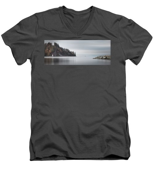 Brockton Point, Vancouver Bc Men's V-Neck T-Shirt