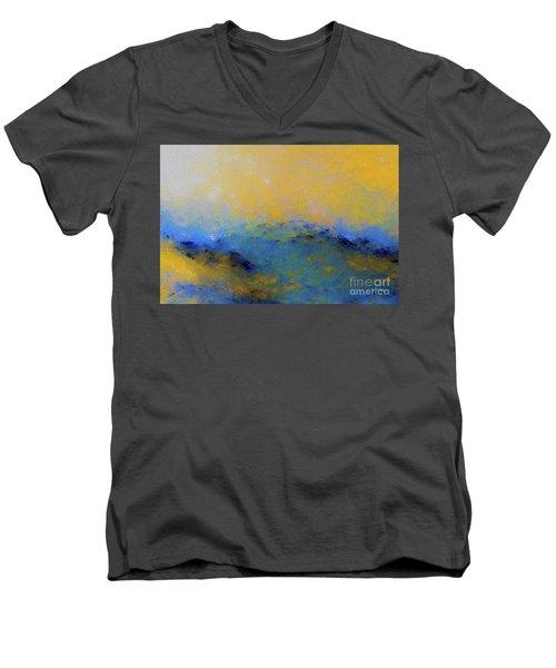 Psalm 100 4. With Thanksgiving Men's V-Neck T-Shirt