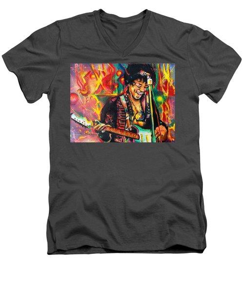 Purple Haze Men's V-Neck T-Shirt