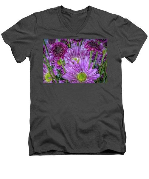 Purple Power Men's V-Neck T-Shirt