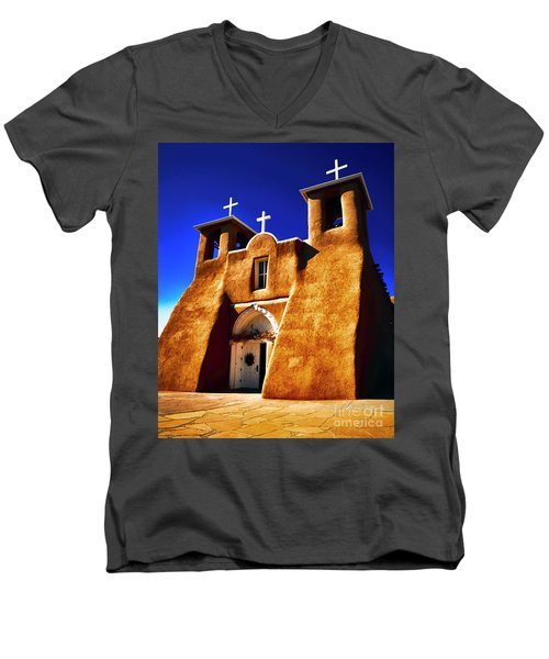 Ranchos Church  Xxxii Men's V-Neck T-Shirt