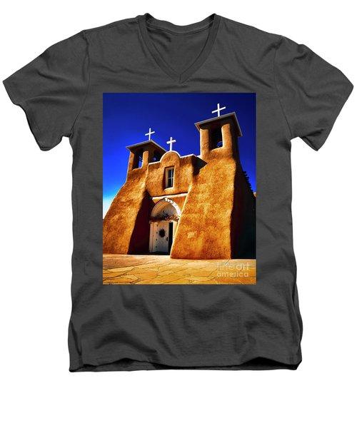 Ranchos Church  Xxxii Men's V-Neck T-Shirt