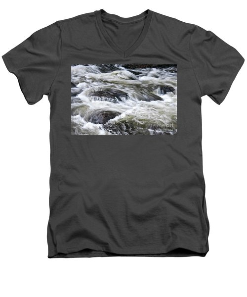 Rapids At Satans Kingdom Men's V-Neck T-Shirt