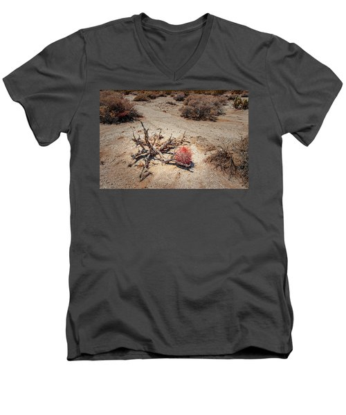 Red Barrel Cactus Men's V-Neck T-Shirt