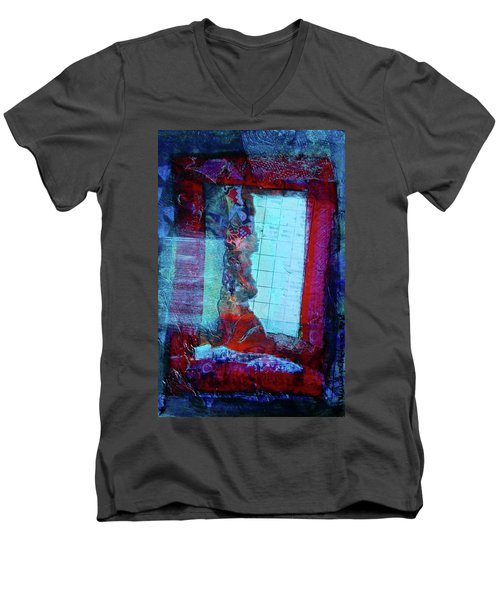 Red Window Men's V-Neck T-Shirt