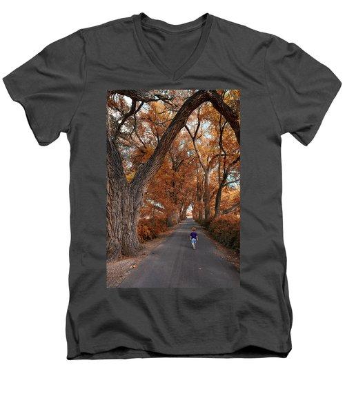 Redhead Fall Walkabout Men's V-Neck T-Shirt