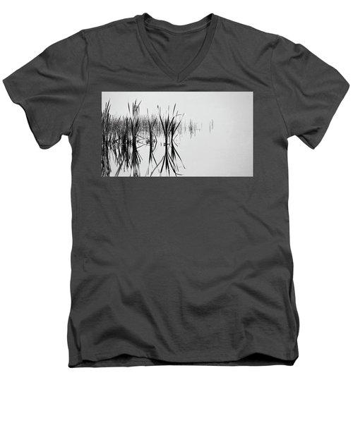 Reed Reflection Men's V-Neck T-Shirt