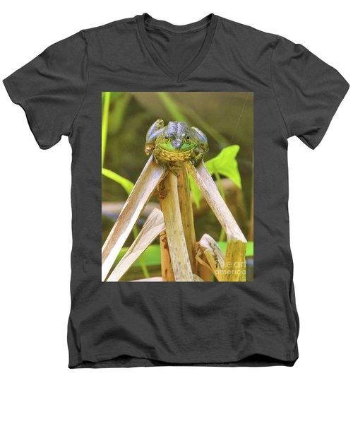 Reeds Bully Men's V-Neck T-Shirt