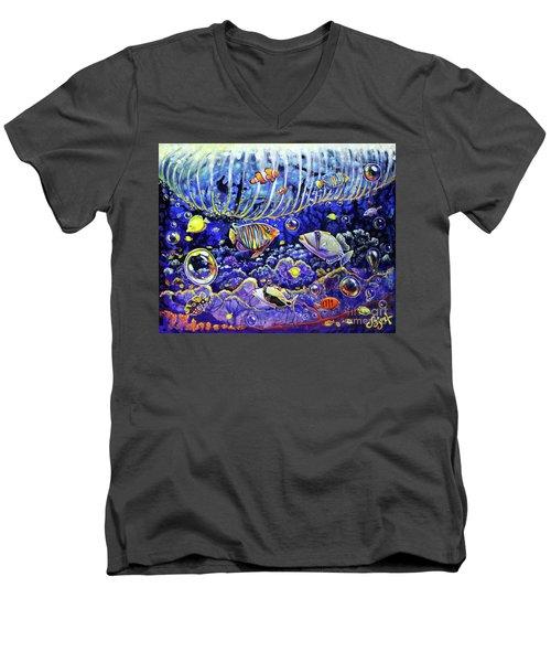 Reef Break Men's V-Neck T-Shirt