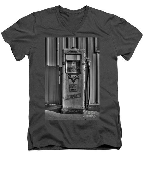 Regular Please - Bw Men's V-Neck T-Shirt