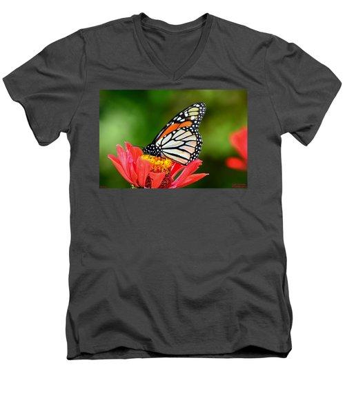 Remembrance Sweet Angel Boy  Men's V-Neck T-Shirt