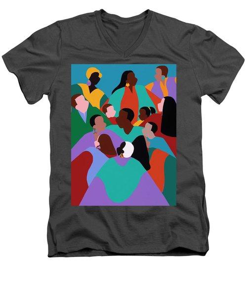 Resilience Men's V-Neck T-Shirt