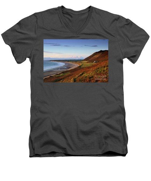 Rhossili Men's V-Neck T-Shirt