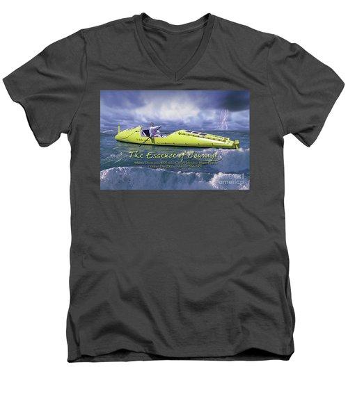 Richard Jones Row 2 Men's V-Neck T-Shirt