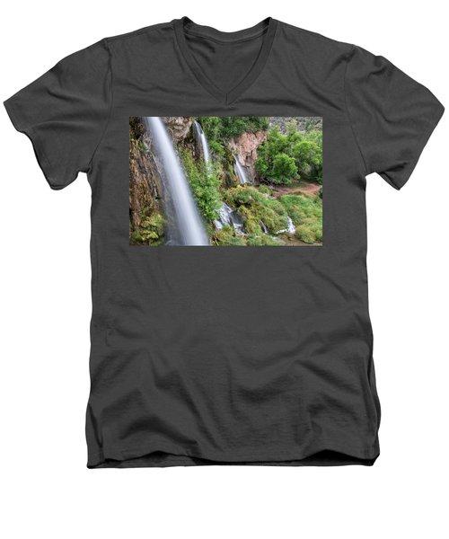 Rifle Falls Men's V-Neck T-Shirt