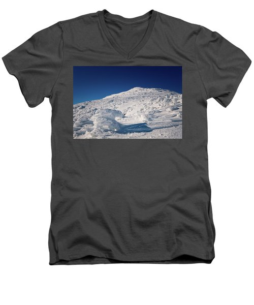 Rime And Snow, And Mountain Trolls. Men's V-Neck T-Shirt