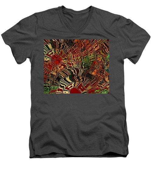 Rising Sun Men's V-Neck T-Shirt